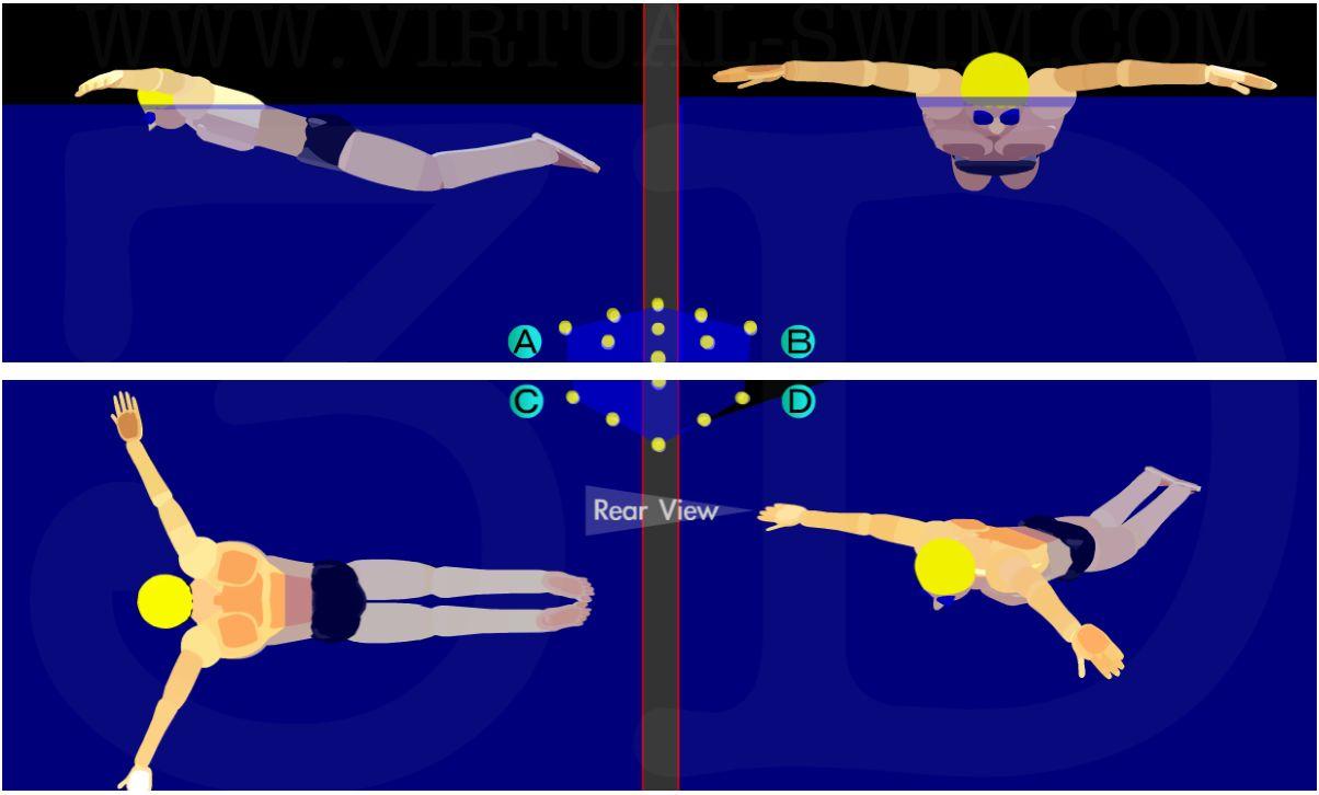 Плавание для похудения расход калорий результаты